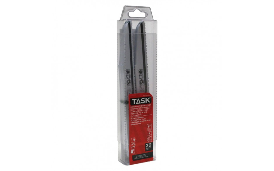 "9"" 8/10 TPI 0.062"" Reciprocating Blade for Metal & Pipe Demolition - 20/pack"