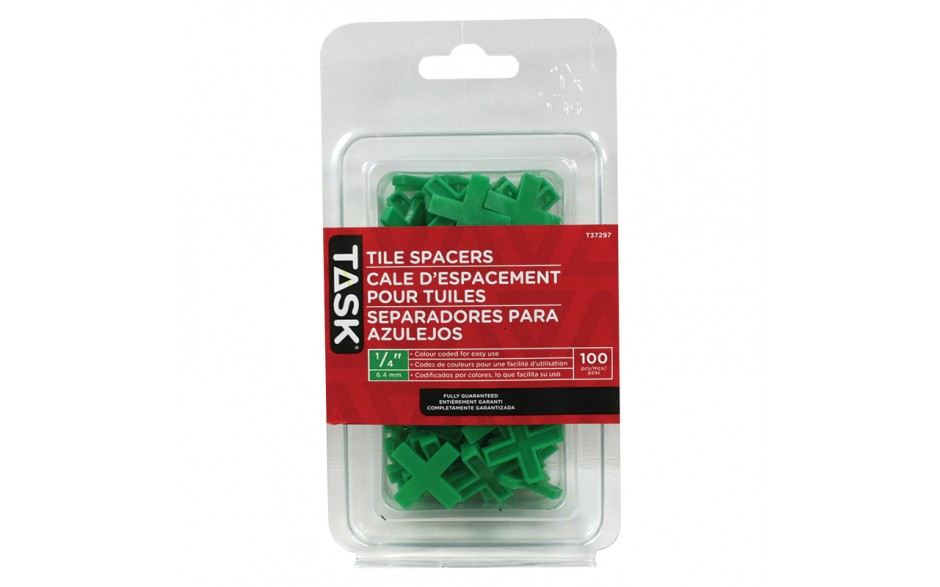 "1/4"" Tile Spacers - 100/pack"