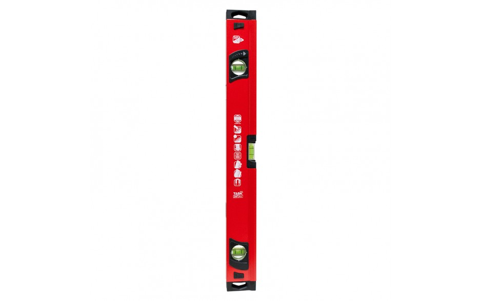 "24"" Magnetic Heavy Duty Box Beam Level with PlumbSite"