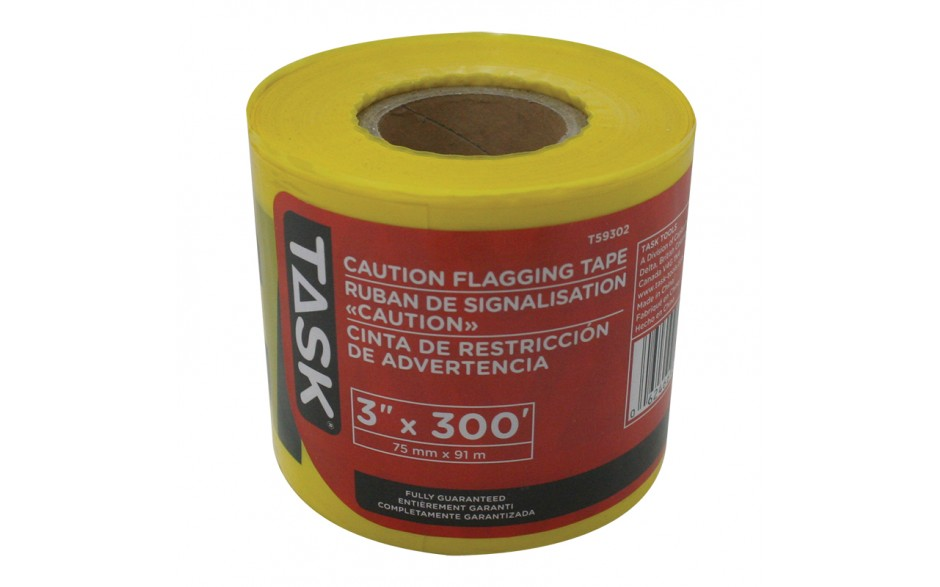 "3"" x 300' CAUTION Tape"