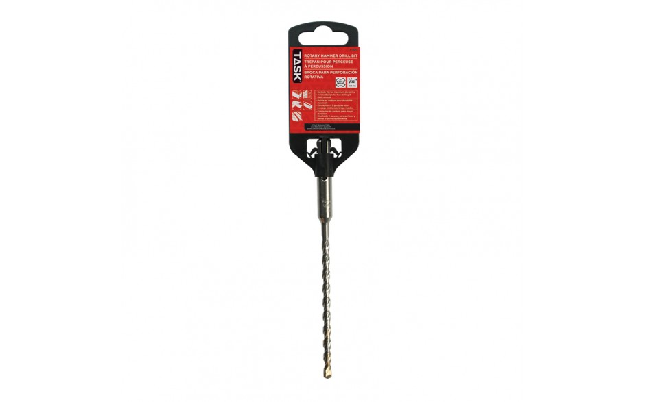 """7/32"""" x 6"""" Useable 4"""" SDS+ Hammer Rotary Drill Bit - 1/pack"""