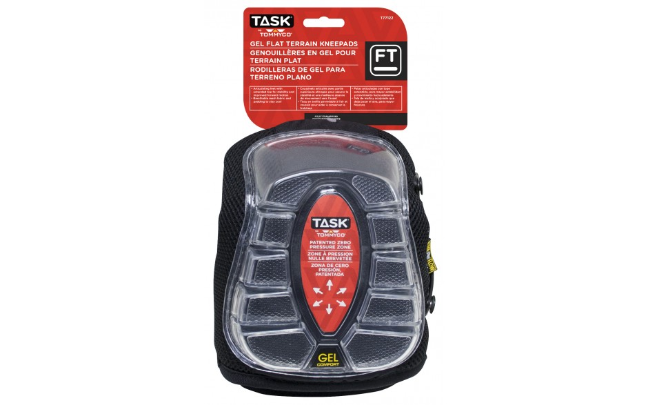 Gel Flat Terrain Kneepads - 1 pair