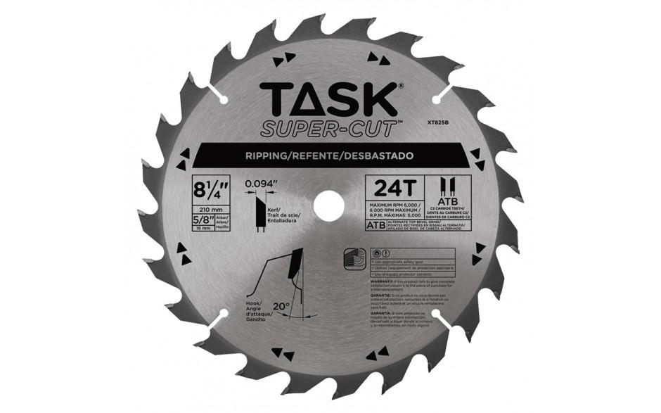 "8-1/4"" 24T ATB Supercut Framing & Decking Blade - Bulk"