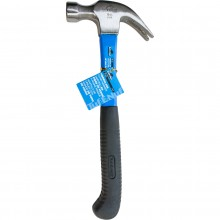 16 oz. Claw Hammer with Fiberglass Handle & Curved Grip