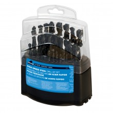 29pc HSS Drill Bit Set - Plastic Index Box
