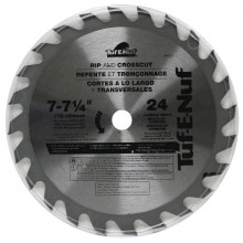 "7-1/4"" 24T ATB Framing & Decking Blade - Bulk"