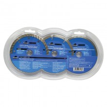 "3pc 4.5"" Diamond Blade Set - Clamshell"