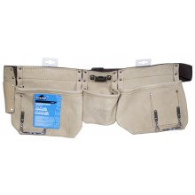 Nylon Belt 3 Pocket Carpenter Apron - 1/pack