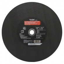 "14"" x 1/8"" 1"" Arbor Double Reinforced Metal Cutting Wheel - Bulk"