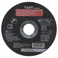 "4-1/2"" x 3/32"" 7/8"" Arbor Metal Cutting Wheel - Bulk"