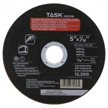 "5"" x 1/16"" 7/8"" Arbor Metal Cutting Wheel - Bulk"