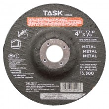 "4"" x 1/8"" 5/8"" Arbor Metal Depressed Center Wheel - Bulk"