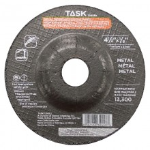 "4-1/2"" x 1/8"" 7/8"" Arbor Metal Depressed Center Wheel - Bulk"