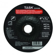 "4"" x 1/16"" 5/8"" Arbor Metal Depressed Center Wheel - Bulk"