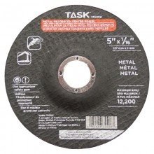 "4-1/2"" x 1/16"" 7/8"" Arbor Metal Depressed Center Wheel - Bulk"