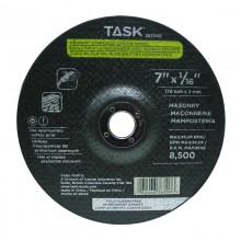 "7"" x 1/16"" 7/8"" Arbor Masonry Depressed Center Wheel - Bulk"
