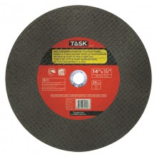 "14"" x 1/8"" 20 mm Arbor Double Reinforced Gas Powered Masonry Cutting Wheel - Bulk"