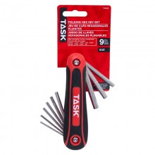 9pc SAE Soft Grip Hex Key Set - 1/pack