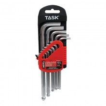 13pc SAE Ball-End L-Type Hex Key Set - 1/pack