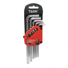 13pc SAE Long L-Type Hex Key Set - 1/pack