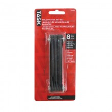 8pc Metric Classic Metal Frame Hex Key Set - 1/pack