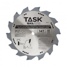 "7-1/4"" 14T ATB Hard Body Nail Cutting Blade - 1/pack"
