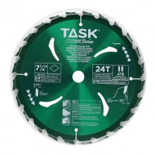 "7-1/4"" 24T ATB Hardbody Thin Kerf Pressure Treated Wood Blade - Bulk"