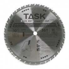 "10"" 36T ATB Hardbody Thin Kerf Ripping & Cross-Cutting Blade - Bulk"