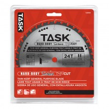 "6-1/2"" 24T ATB Hardbody Thin Kerf General Purpose Blade - 1/pack"