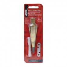 8 oz. Brass Plumb Bob - 1/pack