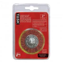 """2"""" Coarse Nylon Wheel Brush - 1/pack"""