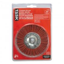 """4"""" Coarse Nylon Wheel Brush - 1/pack"""