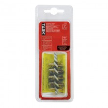 "1"" Brass Coated Steel Tube Brush - 1/pack"