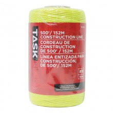 500' Yellow Replacement Braided Nylon Construction Line - 1/pack