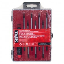 14-in-1 Magnetic Precision Screwdriver Set - Plastic Case