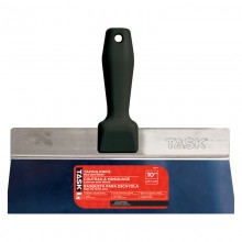 """10"""" Blue Steel Taping Knife with Poly Hdle"""