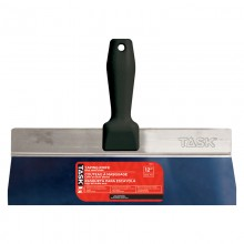 "12"" Blue Steel Taping Knife with Poly Hdle"