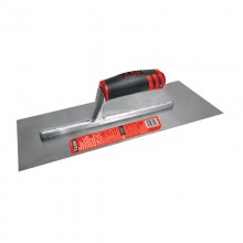 "20"" x 4"" Professional High Carbon Steel Finishing Trowel with FlexFit Grip"