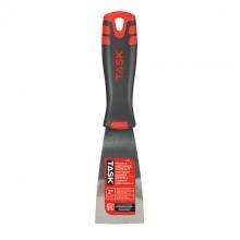 "2"" Stiff High Carbon Steel Putty Knife with FlexFit Grip"
