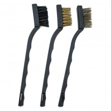 3pc Assorted Mini Brush Set – Clamshell –