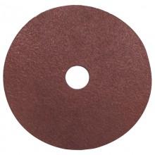 """4"""" 60 Grit Resin Bonded Fibre Sanding Disc - Bulk"""