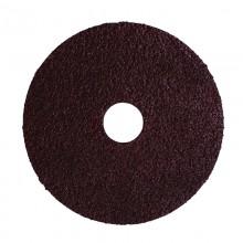 """4-1/2"""" 36 Grit Resin Bonded Fibre Sanding Disc - Bulk"""