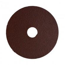 """4-1/2"""" 80 Grit Resin Bonded Fibre Sanding Disc - Bulk"""