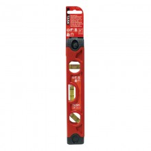"""9"""" Magnetic Poly Torpedo Level with Rubber End Caps - 1/pack"""