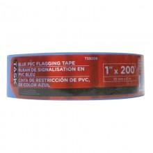 "1"" x 200' Blue PVC Flagging Tape"