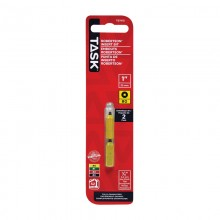 "#0 Robertson® 1"" Yellow Two-Piece Screwdriver Bit - 2/pack"