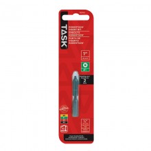 "#1 Robertson® 1"" Green Two-Piece Screwdriver Bit - 2/pack"