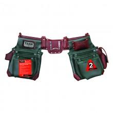 Green & Burgundy 11 Pocket Left Handed Component Apron System SPECIAL ORDER - 1/pack
