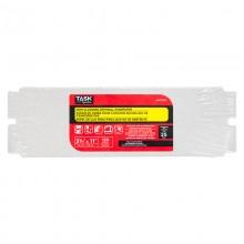 "3-5/16"" x 11"" 120 Grit Fine Non-Clogging Drywall Sandpaper - Bulk"