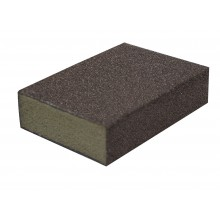 Solvent Free Eco 60 / 100 Grit Medium / Fine Sanding Block - bulk box